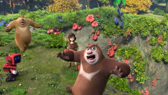 《熊出没之奇幻空间》欢乐预告 视效树国产动漫新标杆
