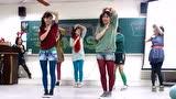高中舞蹈社一首舞曲《有没有》,左边的好漂亮,男生捣蛋