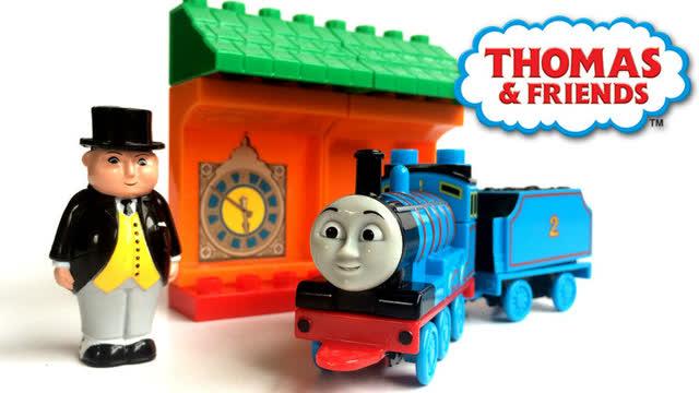 托马斯小火车说话了 会说话的托马斯和詹姆士