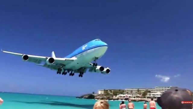 险的飞机降落场