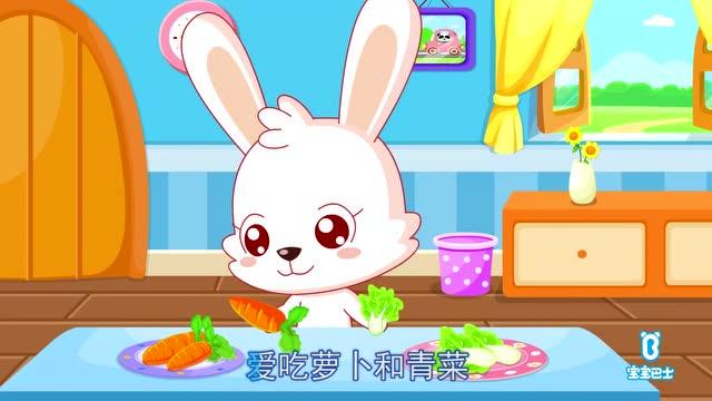 亲子早教儿歌-小白兔白又白图片