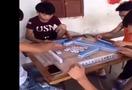 教大家一个打麻将不输钱的小技能!