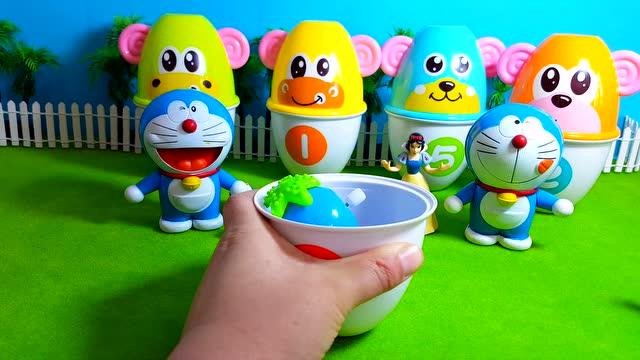 哆啦a梦机器猫 奥特曼 面包超人笑脸奇趣蛋 出奇蛋