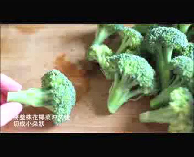手工小制作,花椰菜小绵羊