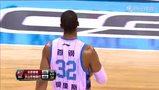 【扣篮】吉喆三分不中 莫里斯二次篮板暴力补扣