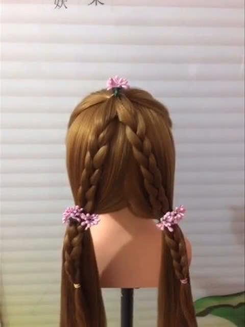 幼儿手工头发怎么做