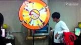 QQ飞车2014全民争霸赛胶州观宇网吧转盘环节