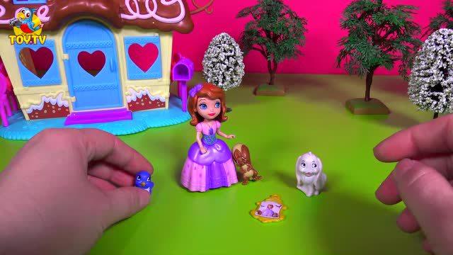 迪士尼苏菲亚公主和小动物们