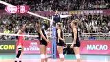 【全场回放】2017女排大奖赛:中国3-2美国