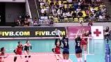【全场回放】2017女排大奖赛:中国0-3意大利