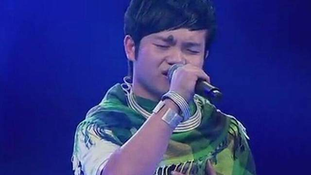 小王子李维真_《中国好声音》哈尼小王子李维真深情演唱《海阔天空》