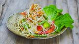 美食台 青木瓜沙拉