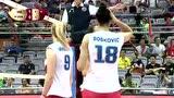 【回放】2017女排大奖赛:塞尔维亚3-2美国