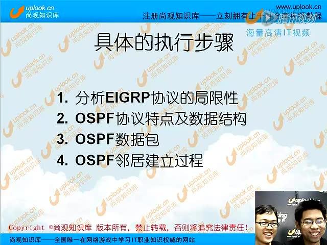 OSPF路由协议特训