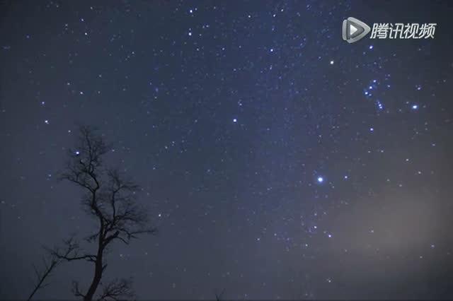 视频: 12月14号双子座流星雨微速视频