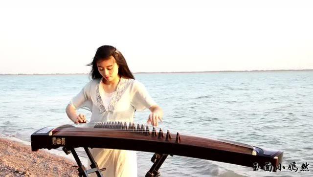 在贝加尔湖畔古筝曲谱