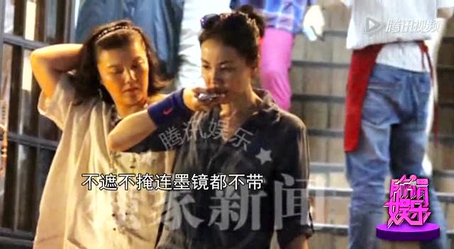王菲素颜吃火锅 谢婷婷为谢霆锋喊冤:他没有不陪孩子截图