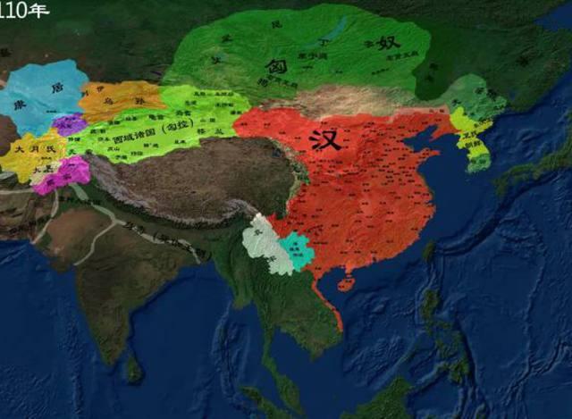 中国历史地图详细版