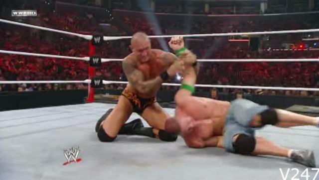 wwe美国职业摔角约翰塞纳大招有哪些