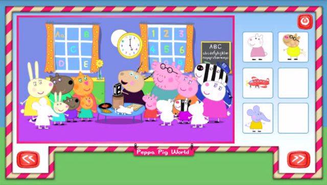 小猪佩奇 粉红猪小妹涂色游戏