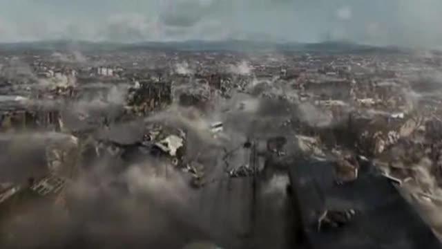 电影 《亚美尼亚大地震》片段,震憾,感人