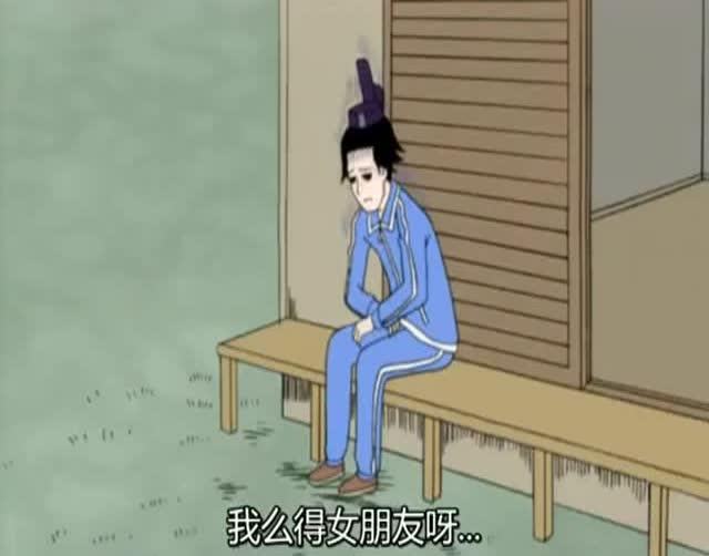 【中文配音】搞笑漫画日和 画家对决图片