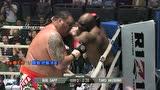 400斤巨人体重压制对手 被重拳爆头流血不止