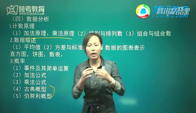 跨考教育2015考研初数大纲解析--刘京环