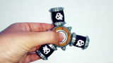DIY创意手工制作游戏《皇室战争》中的骨架筒旋转器