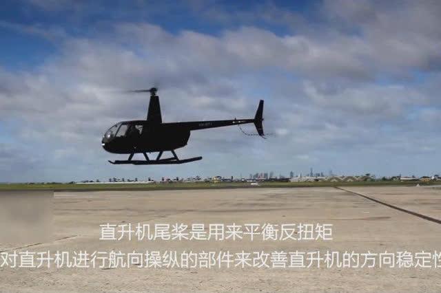 直升飞机是怎样起飞和转向的