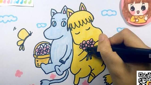 【可乐姐姐学画画】宠物小精灵-精灵鸟