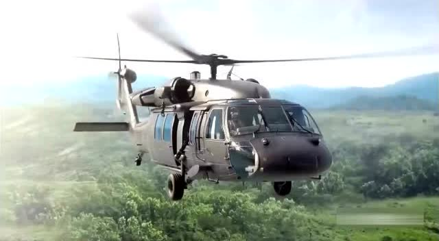 黑鹰直升机油箱若被击穿竟可自动封堵洞口