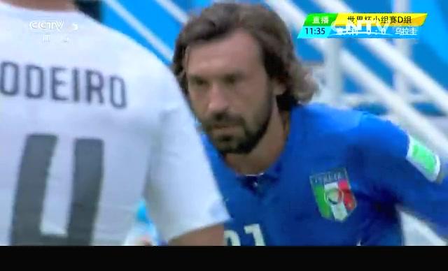 【意大利集锦】意大利0-1乌拉圭 布冯神扑阻苏神破门截图