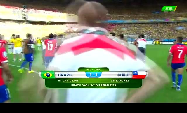 【告别】点球大战遗憾落败 智利黯然告别截图