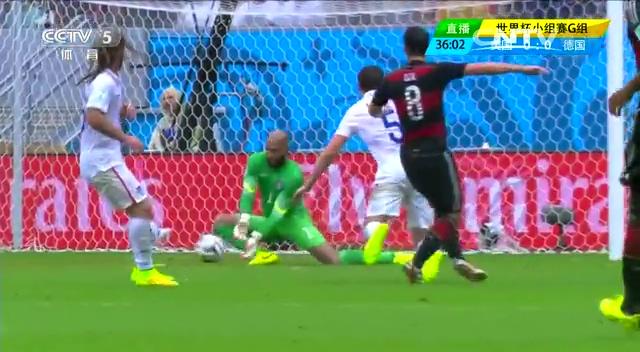 全场集锦:美国0-1德国 穆勒世界波破门截图