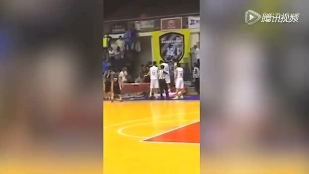 两岸篮球邀请赛爆冲突 台媒称北大殴打台湾球员截图