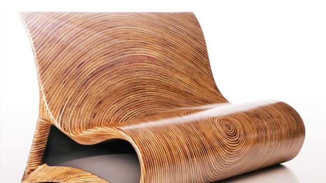 2017最新20多款创意木质椅床沙发家具创意设计
