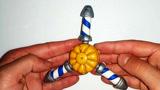 DIY创意手工粘土软陶制作游戏《皇室战争》中的道具旋转器