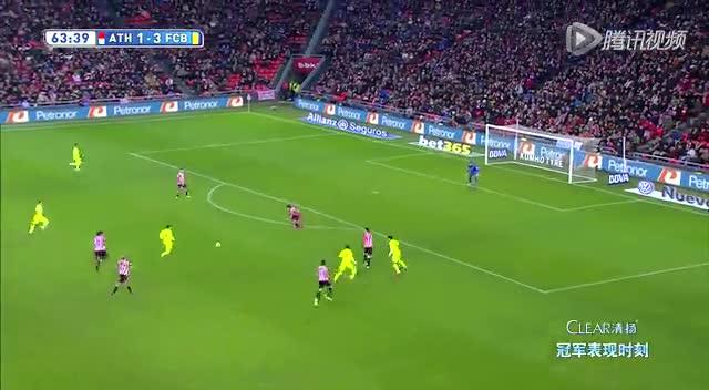 【进球】梅西再送助攻 内马尔推射一击致命截图
