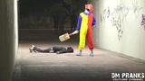 小丑杀人恶作剧又一波!太惊魂了各种吓尿