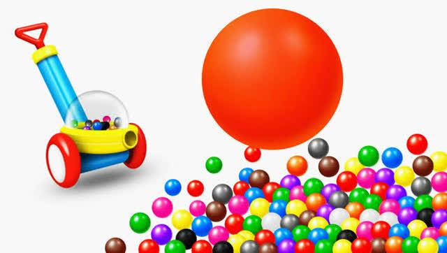 3d拼图,彩虹糖果,汽车学习颜色