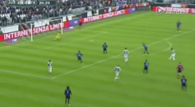 进球视频:基耶利尼左路分球 小马哥远射中的