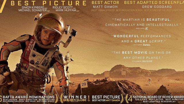 5分钟看完2015电影《火星救援》