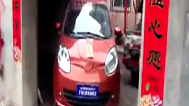 潍坊联运驾校小型自动挡汽车倒车入库