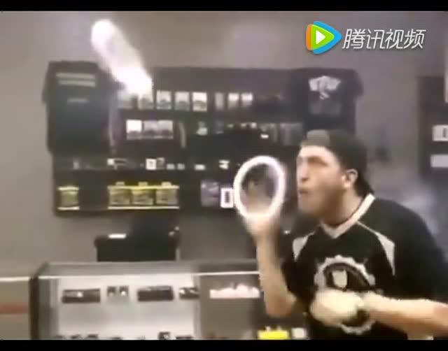 cyovape电子烟玩法烟圈教学视频(火车头)