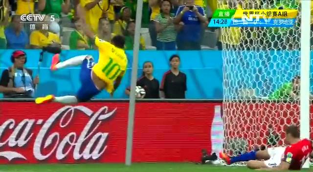 【内马尔集锦】巴西新星个人秀 单骑救主点球破门截图