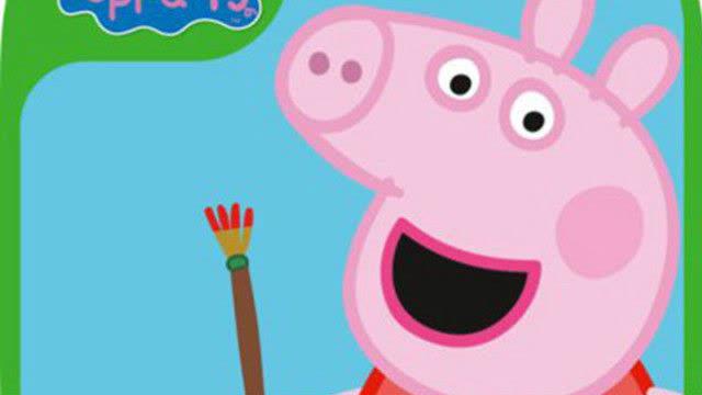 儿童简笔画教程儿童学画画儿童绘画粉红猪小妹佩奇