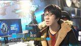 重庆科教频道《电竞人生》专访血魂老仇美丽