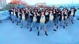 满满的青春活力!某女子高中生欢乐舞蹈,好美!