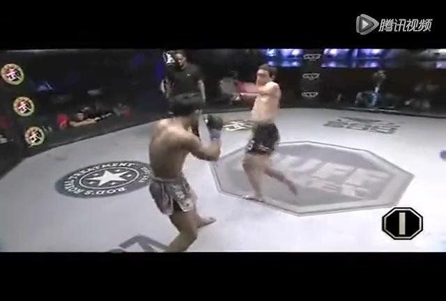 锐武12:王冠致命勾拳KO菲律宾高手截图
